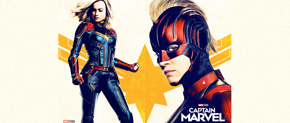 Brie Larson като Captain Marvel