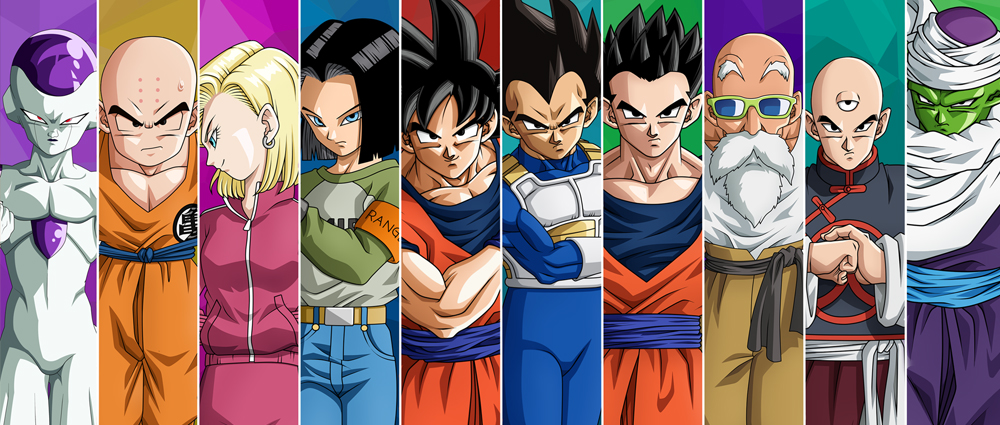 Чаша с участниците в Tournament of Power на Dragon Ball Super