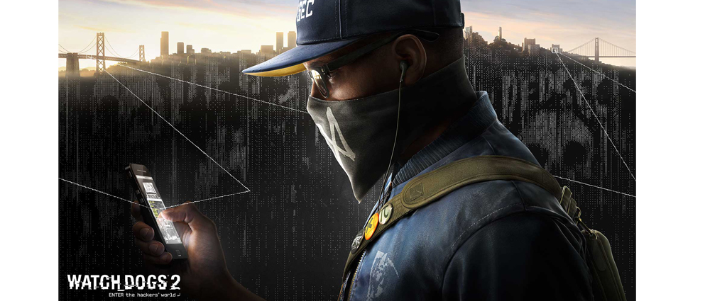Чаша с Marcus Holloway от Watch Dogs 2