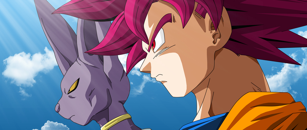 Son Goku и Beerus от Dragon Ball Super